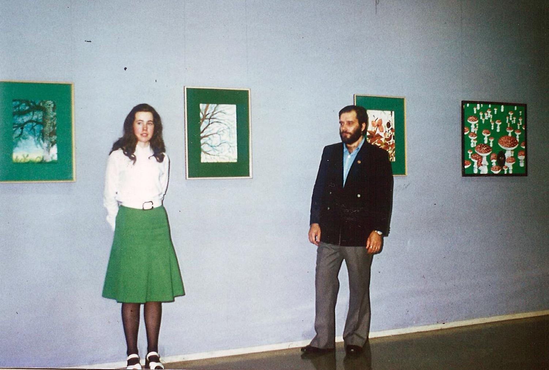 taidenäyttely 75